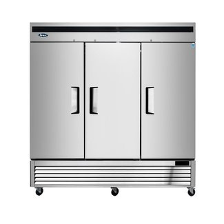 Atosa USA Atosa USA MBF8508GR Bottom Mount(3) Door  Refrigerator Dimensions: 81.9 W * 31.5 D * 83.2 H
