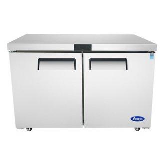 Atosa USA Atosa USA MGF8406GR 48'' Undercounter-Freezer, Dimensions: 48.2 W * 30 D * 34 1/8 H