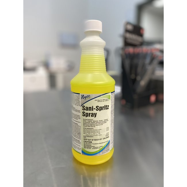 Nyco Nyco NL763 Sani SpritzCleaner Disinfectant RTU Bottle
