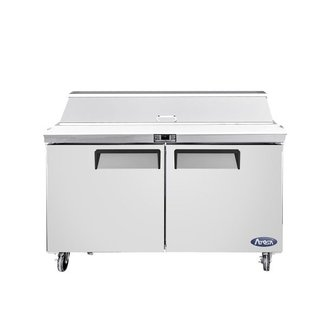 Atosa USA Atosa USA MSF8302GR 48'' Sandwich Prep. Table with 12 Pan Dimensions: 48.2 W * 30 D * 44.3 H