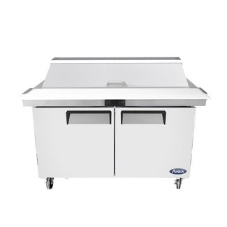 Atosa USA Atosa USA MSF8303GR 60'' Sandwich Prep. Table with 16 Pan Dimensions: 60.2 W * 30 D * 44.3 H