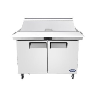 Atosa USA Atosa USA MSF8306GR 48'' Mega top Sandwich Prep. Table with 18 Pan Dimensions: 48.2 W * 34 D * 47.1 H