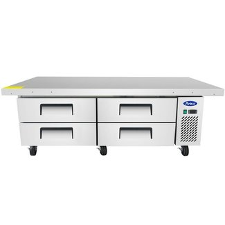 Atosa USA Atosa USA MGF8454GR 76'' Extended Top Chef Base   with 72'' Cabinet Dimensions:76 W * 32.1 D * 26.6 H