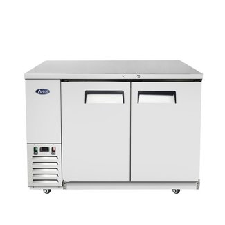 Atosa USA Atosa USA MBB48 48'' Back Bar Cooler - Stainless Steel  Dimension: 48 W * 28.1 D * 40 H