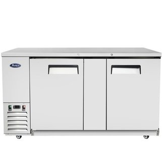 Atosa USA Atosa USA MBB69 69'' Back Bar Cooler - Stainless Steel Dimension: 68.0 W * 28.1 D * 40 H
