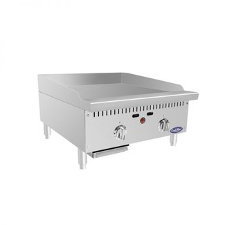 "Atosa USA Atosa USA ATMG-24T HD 24'' Thermo-Griddle with Total 50,000 BTU (with 3/4"" griddle plate; will be discontinued once depleted)"