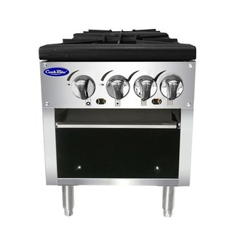 Atosa USA Atosa USA ATSP-18-2 Double Stock Pot Stove