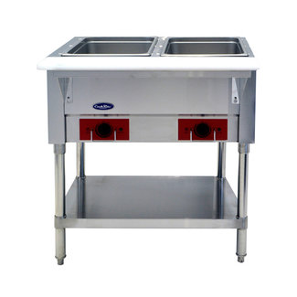 Atosa USA Atosa USA CSTEA-2B Electric Hot Food Table, 2 Wells 500W/well, 1000W/120V (Water Pans & Covers Included)