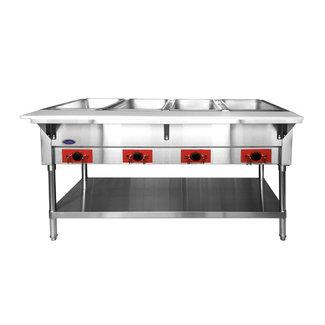 Atosa USA Atosa USA CSTEA-4 Electric Hot Food Table, 4 Wells 500W/well, 2000W/120V