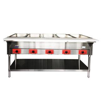 Atosa USA Atosa USA CSTEB-5 Electric Hot Food Table, 5 Wells 750W/well, 3750W/240V