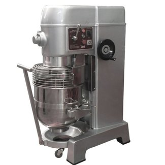 Atosa USA Atosa USA PPM-60 70 quart Planetary Mixer, gear driven w/timer, s/s bowl and safety guard. Includes wire whip, dough hook, flat beater and bowl truck