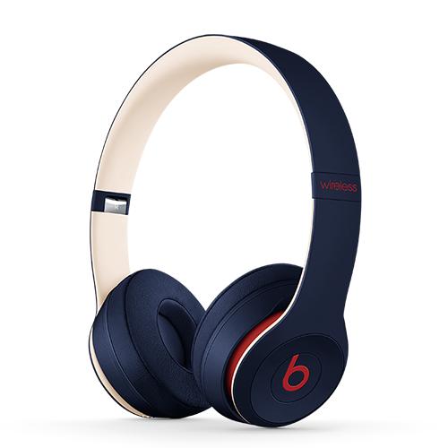 Apple Solo3 Beats Wireless Headphones – Beats Club – Club Navy