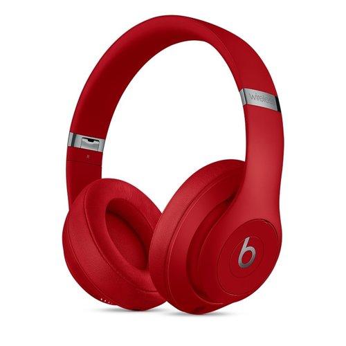 Apple Beats Studio3 Wireless Over-Ear Headphones - Red