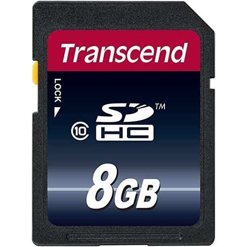 DMS Transcend 8GB SDHC Memory Card Class 10