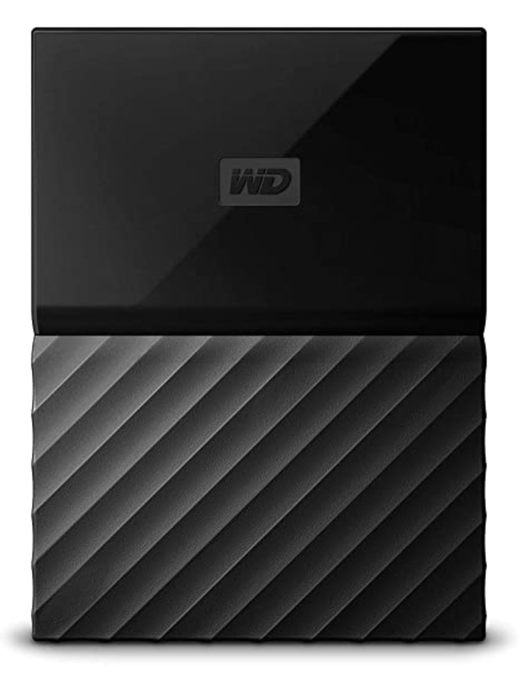 Western Digital WD 1TB My Passport USB 3.0 Secure Portable Hard Drive (Black)