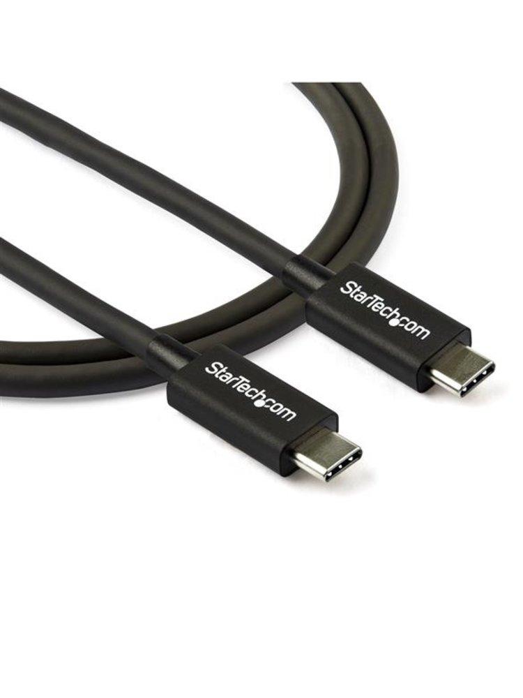 StarTech STARTECH 0.8m/2.7ft Thunderbolt 3 to Thunderbolt 3 Cable