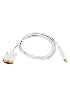 Monoprice MonoPrice 6ft Mini Displayport to DVI-White