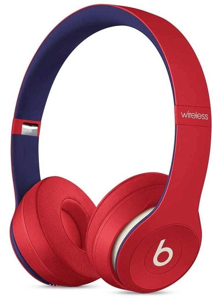 Apple Solo3 Beats Wireless Headphones – Beats Club – Club Red