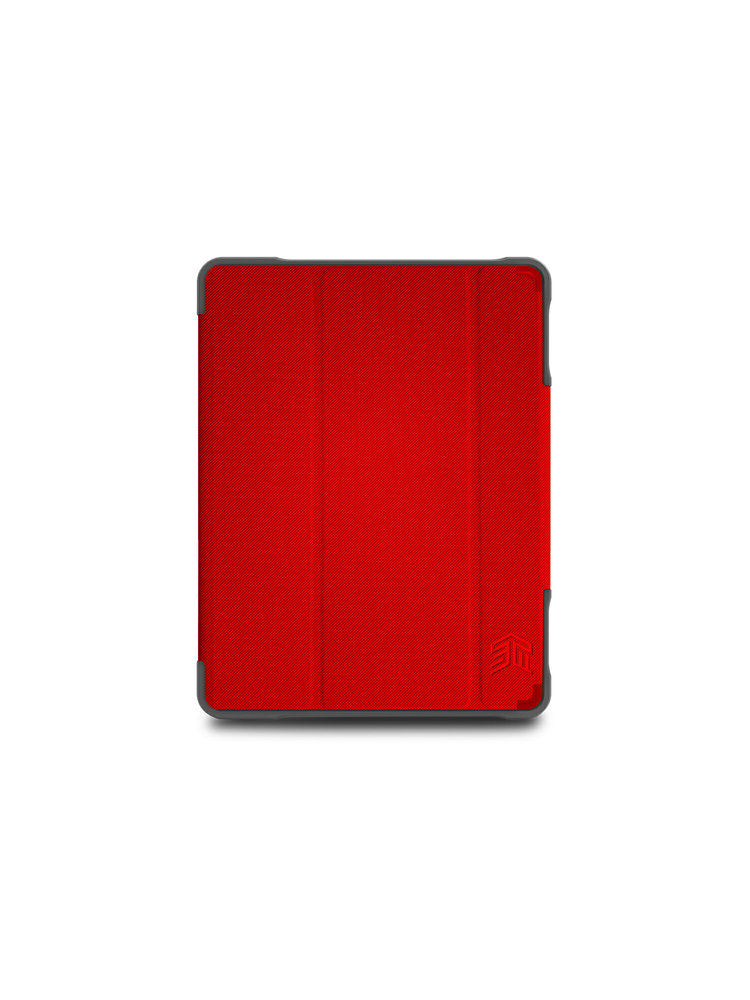 STM Dux Plus iPad 7th and 8th Gen Case - Red