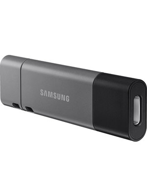 Samsung Samsung 64GB DUO Plus USB Type-C Flash Drive with USB Type-A Adapter