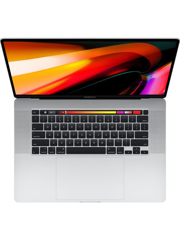 Apple 16-inch MacBook Pro with Touch Bar: 2.3GHz 8-core 9th-generation Intel Core i9 processor, 1TB - Silver (2020)