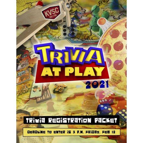 KVSC Trivia at Play Team Registration