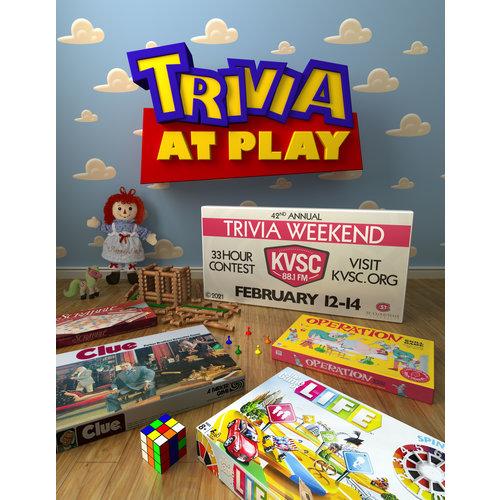 KVSC Trivia at Play Posters