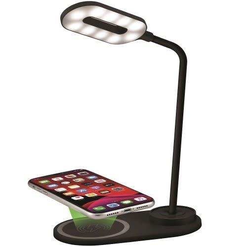 ChargeWorx ChargeWorx Desk Lamp w/10W Wireless Charging Pad