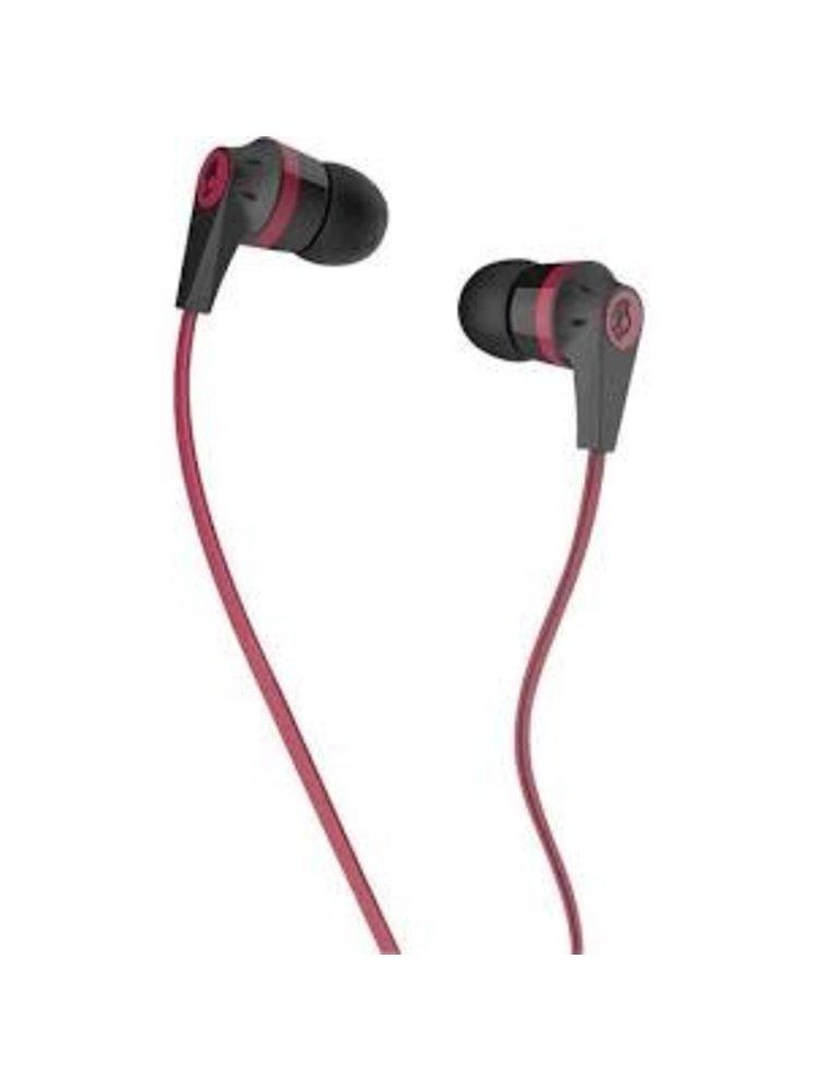 Skullcandy Skullcandy Ink'd Earbud Headphones with Mic Pink/Black