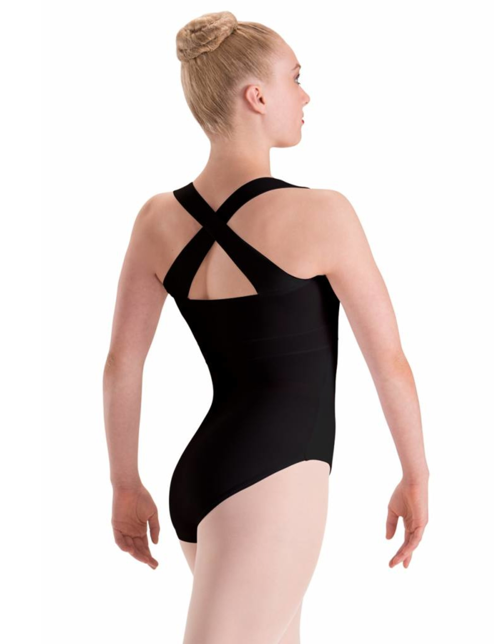 Motionwear Cross Back Banded Leotard Adult #2629