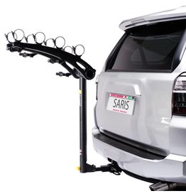 Saris Saris Bones Hitch Rack: 4 Bike, Universal Hitch, Black