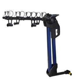 Saris Saris 774BLU Glide EX 4-Bike Hitch Rack, Blue