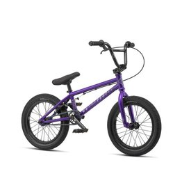 """We The People We The People Seed 16"""" 2019 Complete BMX Bike 16"""" Top Tube Matte Purple"""