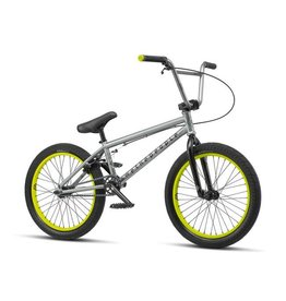 "We The People We The People Nova 20"" 2019 Complete BMX Bike 20"" Top Tube Matte Quicksilver"