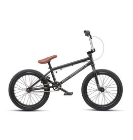 "We The People We The People CRS 18"" 2019 Complete BMX Bike 18"" Top Tube Matte Black"