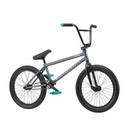 "We The People We The People Justice 20"" 2019 Complete BMX Bike 20.75"" Top Tube Metallic Gray"