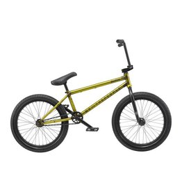 "We The People We The People Justice 20"" 2019 Complete BMX Bike 20.75"" Top Tube Matte Translucent Yellow"