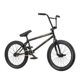 "We The People We The People Reason 20"" 2019 Complete BMX Bike 20.75"" Top Tube Matte Black"
