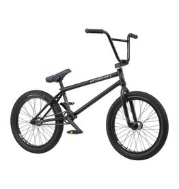 "We The People We The People Crysis 20"" 2019 Complete BMX Bike 21"" Top Tube Matte Black"