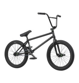 "We The People We the People Trust 20"" 2019 Complete BMX Bike 21"" Top Tube Cassette Right Side Drive Matte Black"