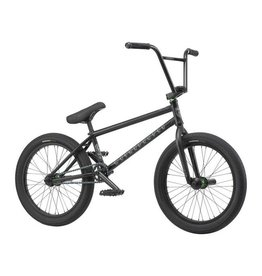"We The People We the People Trust 20"" 2019 Complete BMX Bike 20.75"" Top Tube Freecoaster Right Side Drive Matte Black"