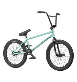 "We The People We The People Battleship 20"" 2019 Complete BMX Bike 20.75"" Top Tube Freecoaster Right Side Drive Matte Mint Green"