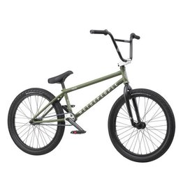 "We The People We The People Audio 22"" 2019 Complete BMX Bike 21.9"" Top Tube Matte Olive"