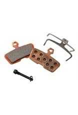 SRAM SRAM/Avid Code, Code RSC, Code R, Guide RE Metallic Disc Brake Pad, Steel Back, Pair