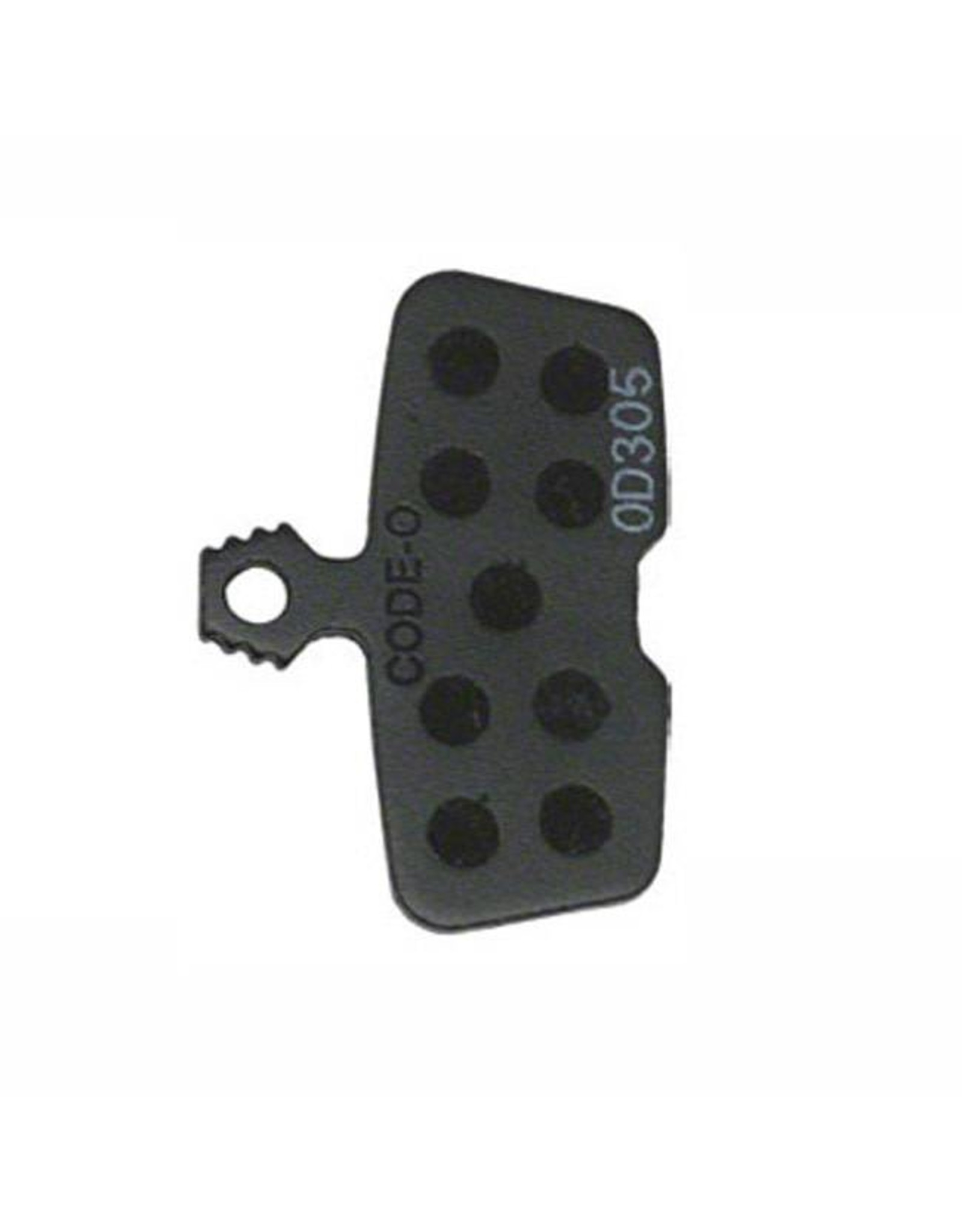 SRAM SRAM/Avid Code, Code RSC, Code R, Guide RE Organic Disc Brake Pad, Steel Back, Pair