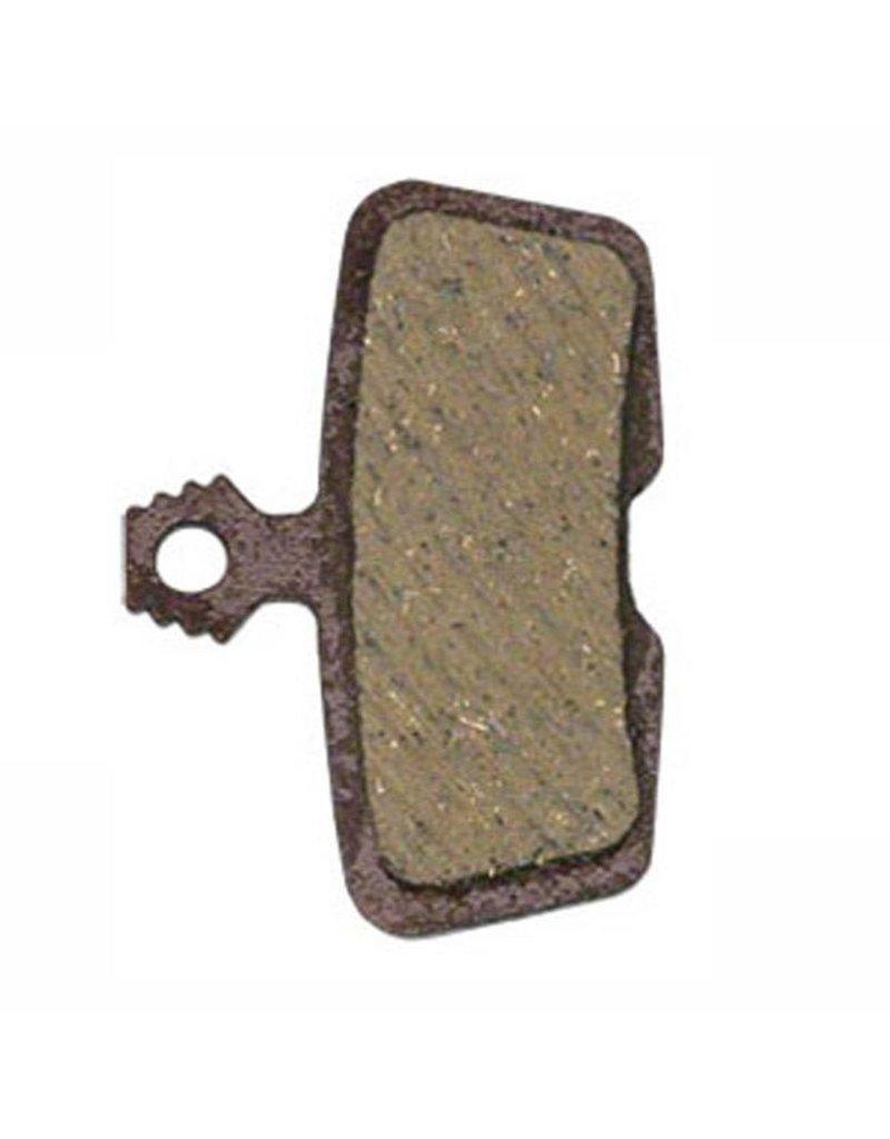 Steel Back SRAM//Avid Code Code RSC Code R Guide RE Organic Disc Brake Pad Pair