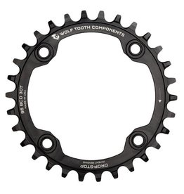 Wolf Tooth Components Wolf Tooth Components Drop-Stop Chainring: 30T x 96 BCD Shimano Symmetric Cranks