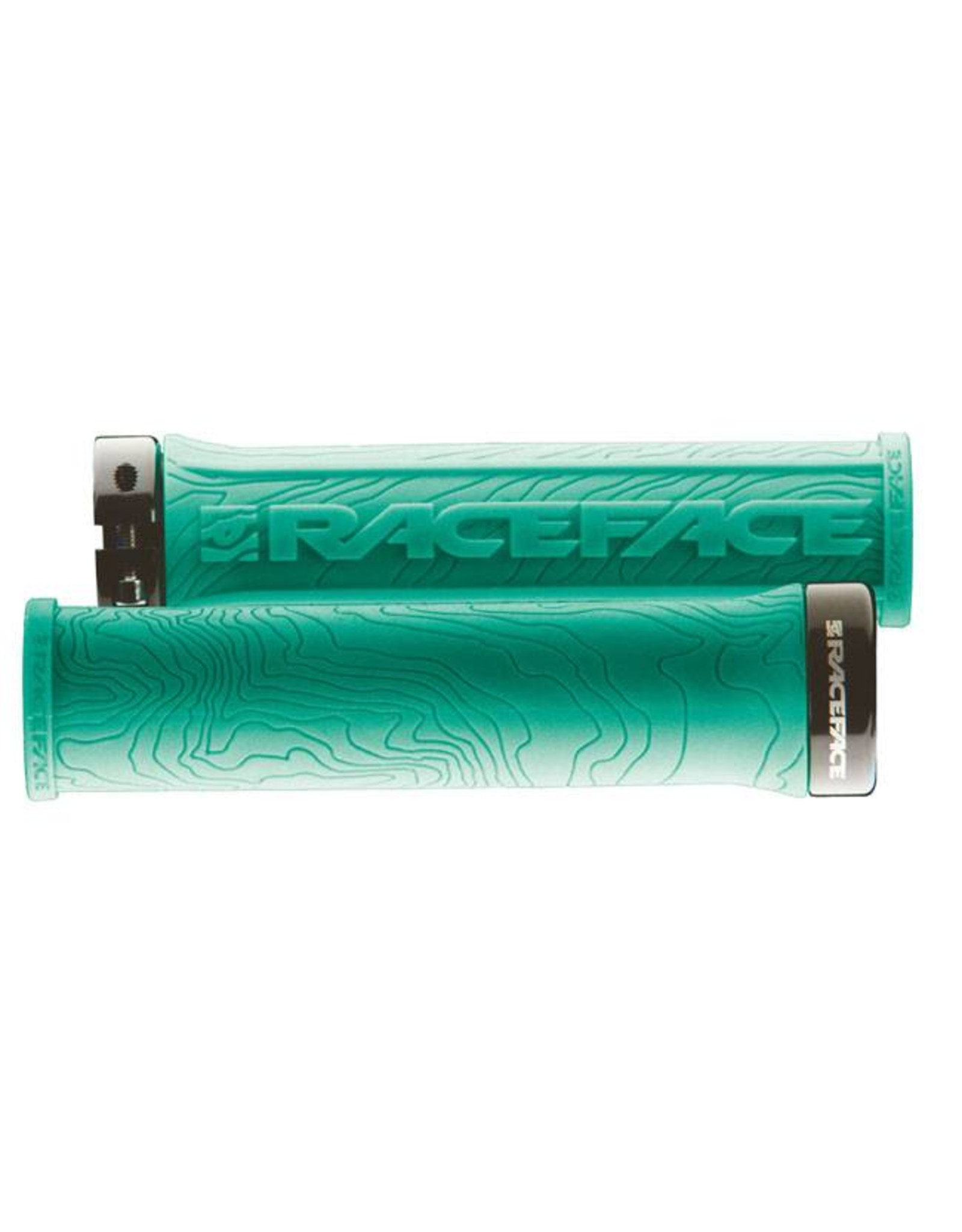 RaceFace RaceFace Half Nelson Lock-On Grip Turquoise