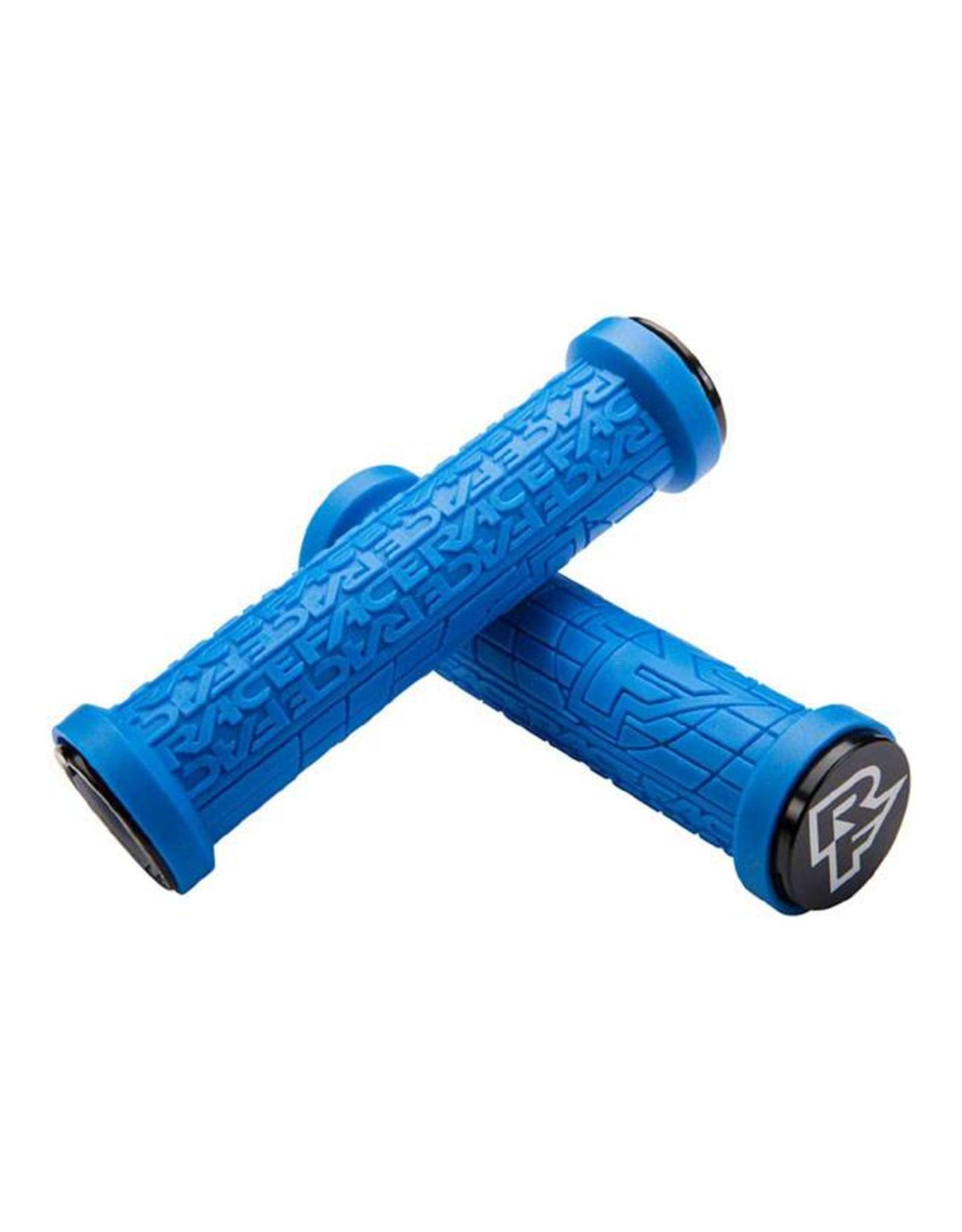 RaceFace RaceFace Grippler 30mm Lock-On Grip Blue
