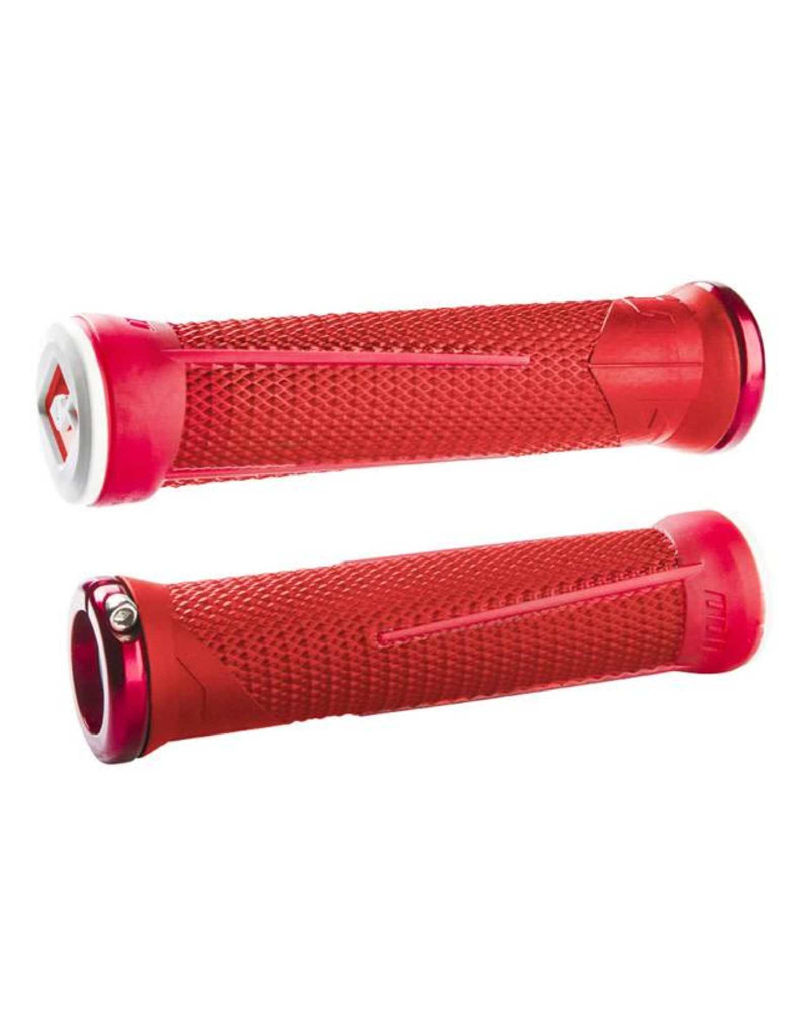 ODI ODI AG1 Lock-On Grips Aaron Gwin 135mm Red/Fire Red